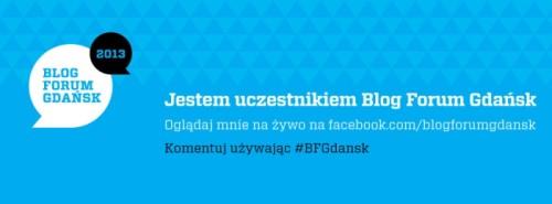 uczestnik Blog Forum Gdańsk