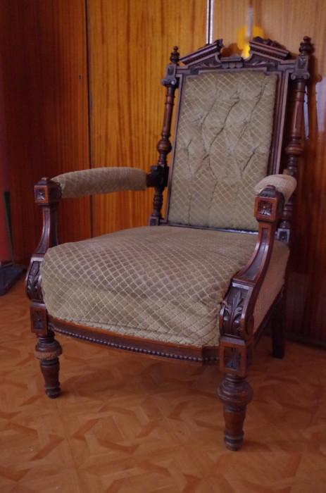 Fotel do dziergania