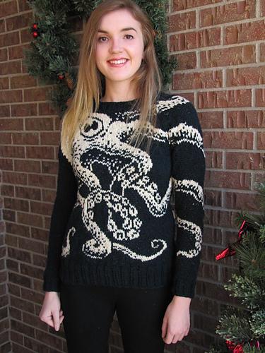 sweter ośmiornica