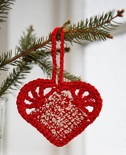 świąteczne serduszko drops