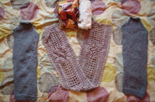 alpakowy sweterek