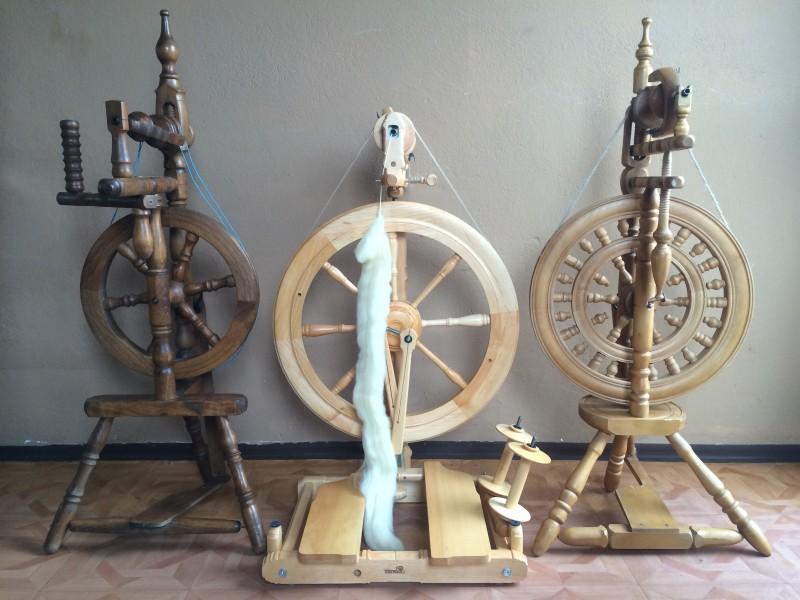 Kolekcja kołowrotków